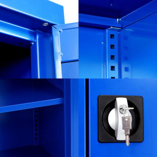 Armoire IDEO100B Porte-Vitrées Details