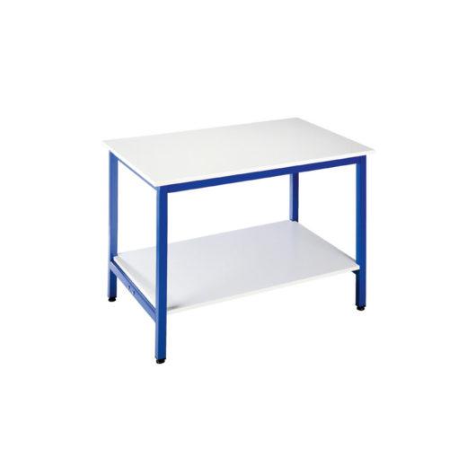 Table d'Atelier ESIA 120 avec Tablette Inférieure